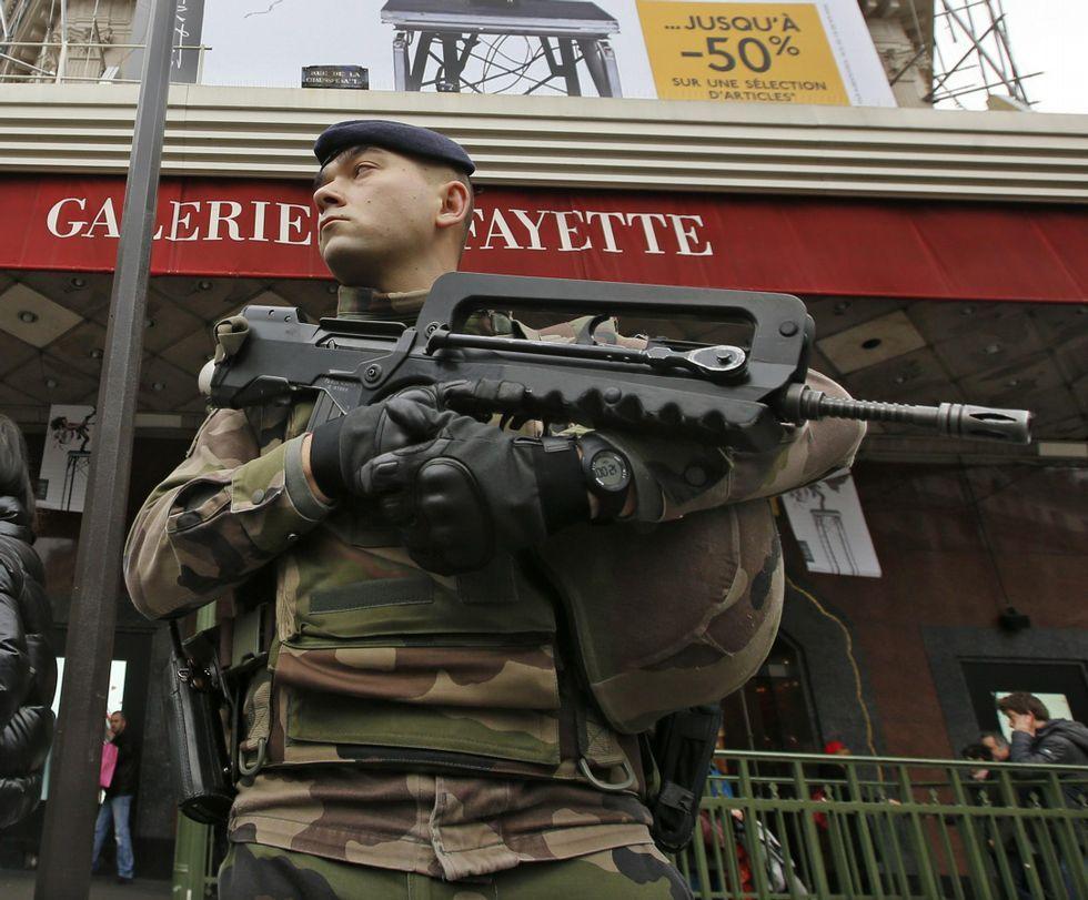 Histórica manifestación contra el terrorismo en París