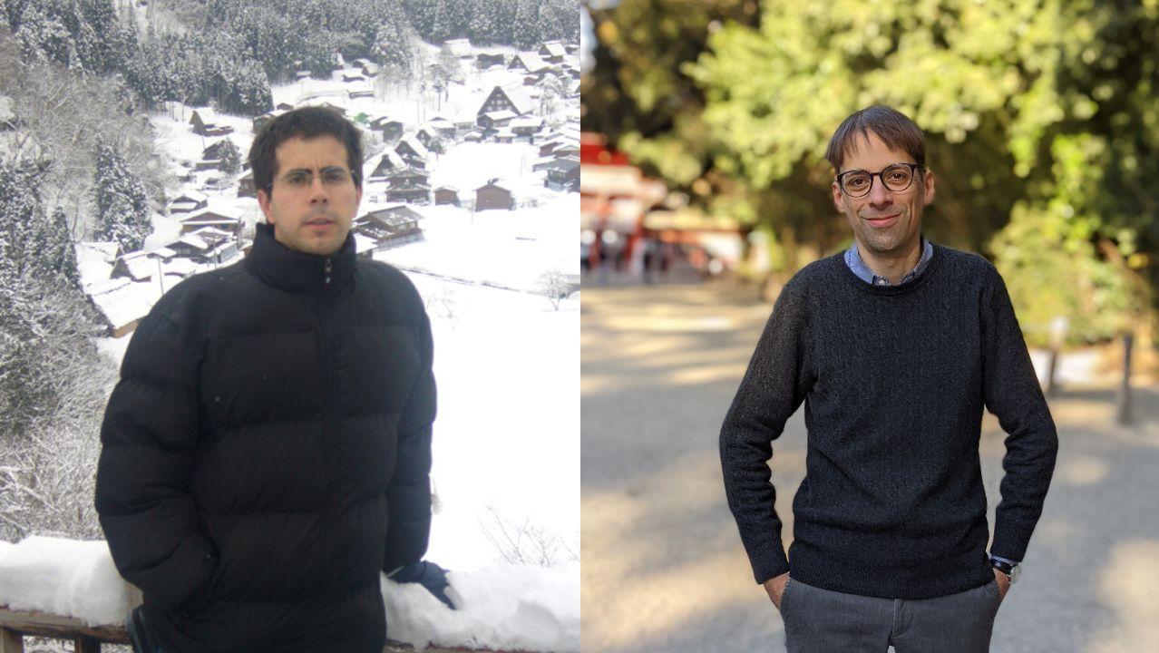 Gonzalo San Emeterio (izquierda) y Andres Perez Riobó, autores de «Japón en su historia» (Satori)