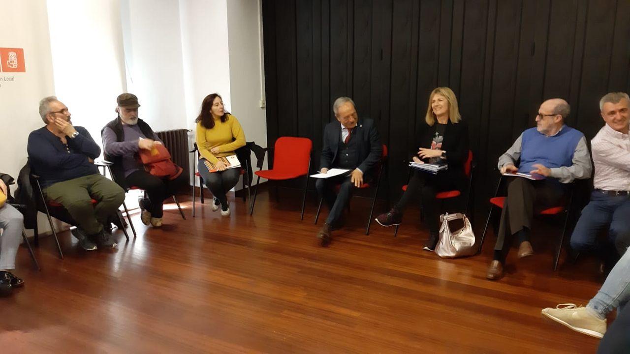 Wenceslao López se reúne con representantes del Tercer Sector