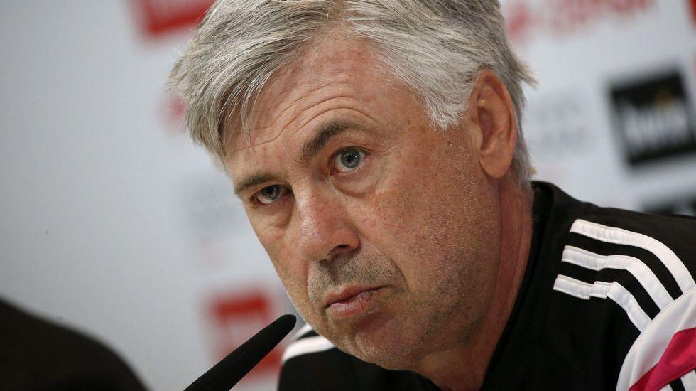 Ancelotti: «Ante la Juventus podemos empatar, en Liga no»
