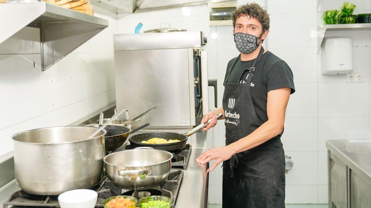 Nacho Rodríguez, Dueño del Restaurante A Barbecho