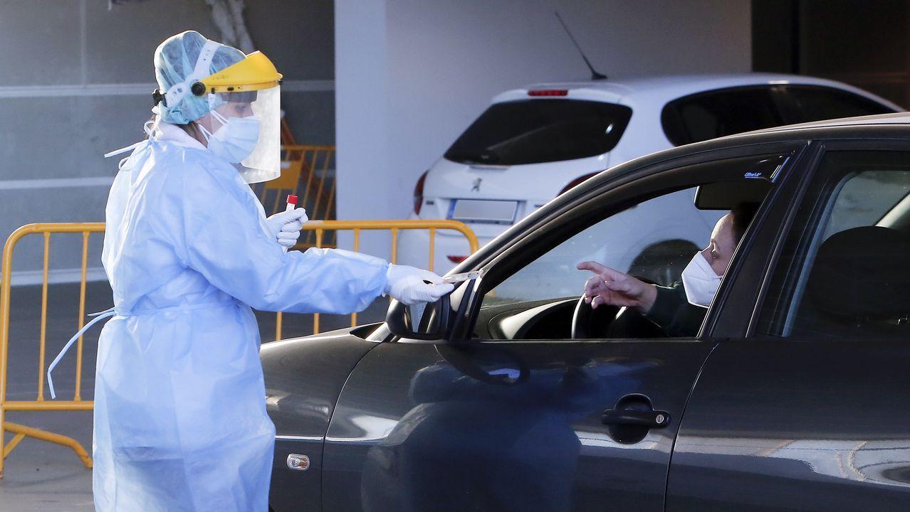 En las últimas 24 horas se hicieron 1.368 pruebas PCR en el área sanitaria de Pontevedra y O Salnés