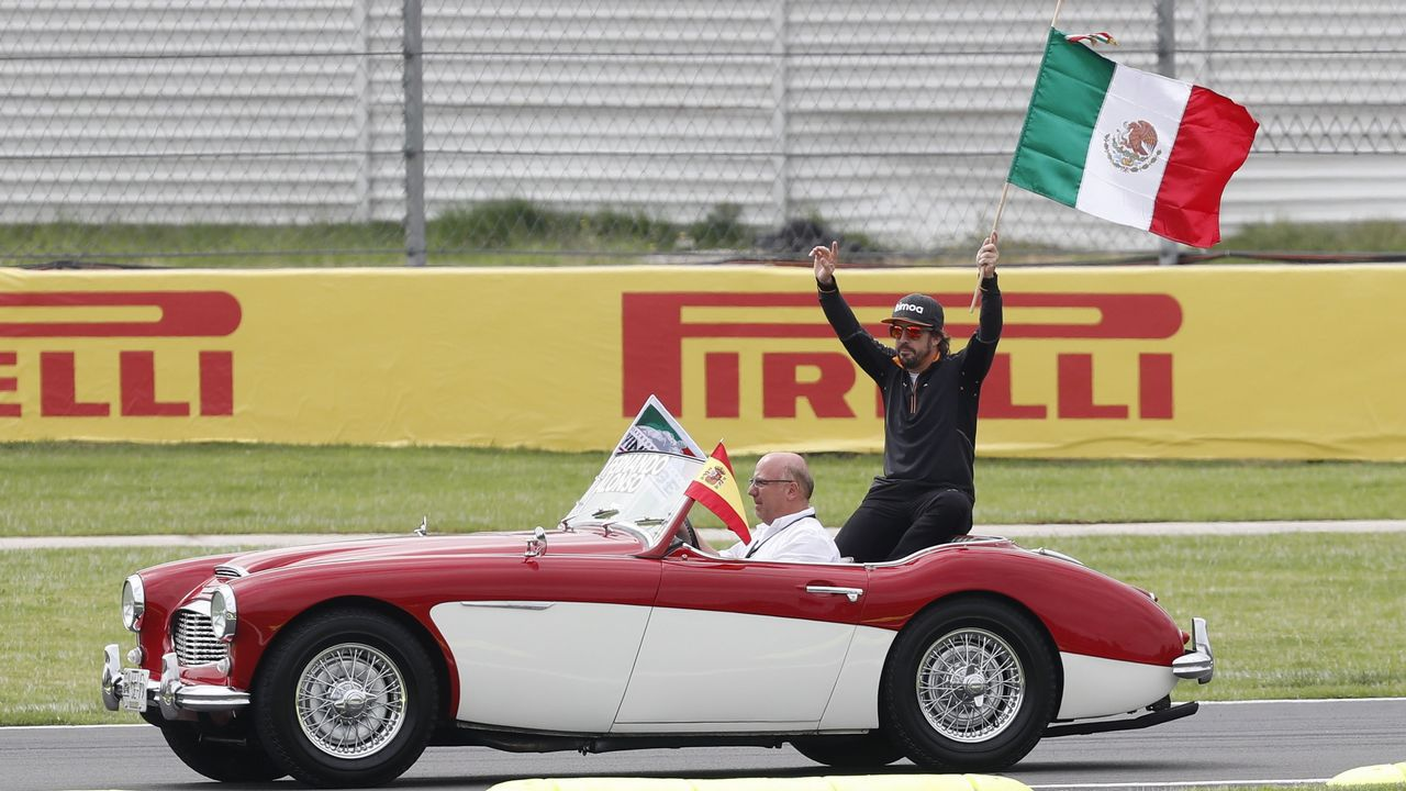 El Gran Premio de Formula uno de México en imágenes.Fernando Alonso