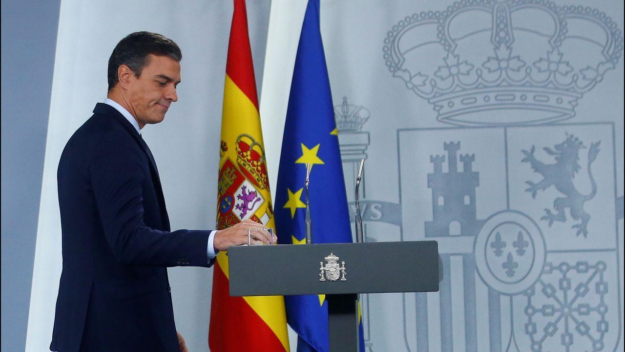Pedro Sánchez tras conocerse que el rey no propone a ningún candidato a la investidura