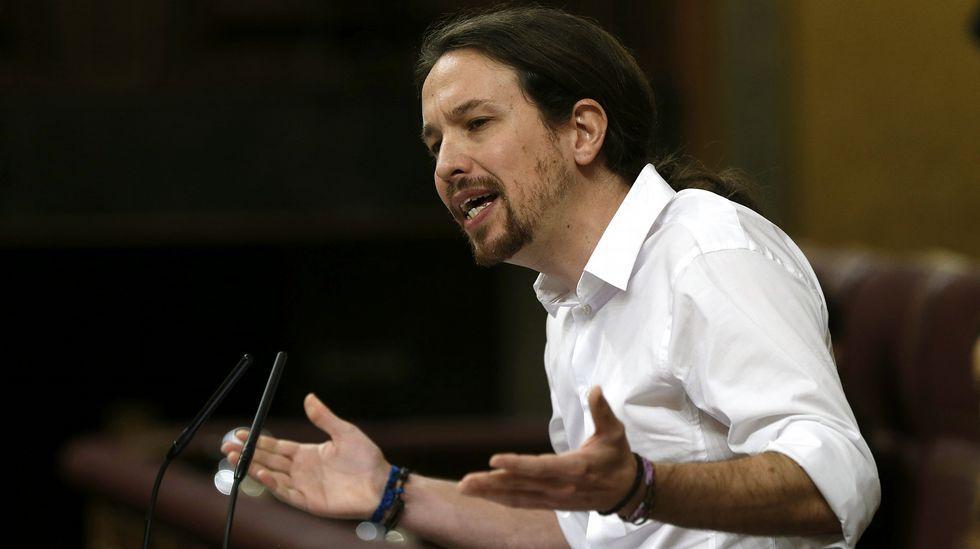 Pablo Iglesias: «Desconfíe, señor Sánchez, de quien tienen su pasado manchado en cal viva»