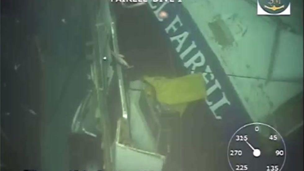 Rescatadas tres personas tras hundirse su pesquero a 4 millas al noroeste del cabo Prior.Simulacro en el puerto de Vigo