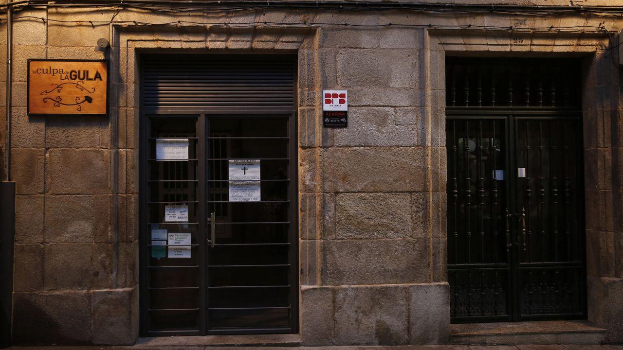 Hostelería cerrada en Pontevedra