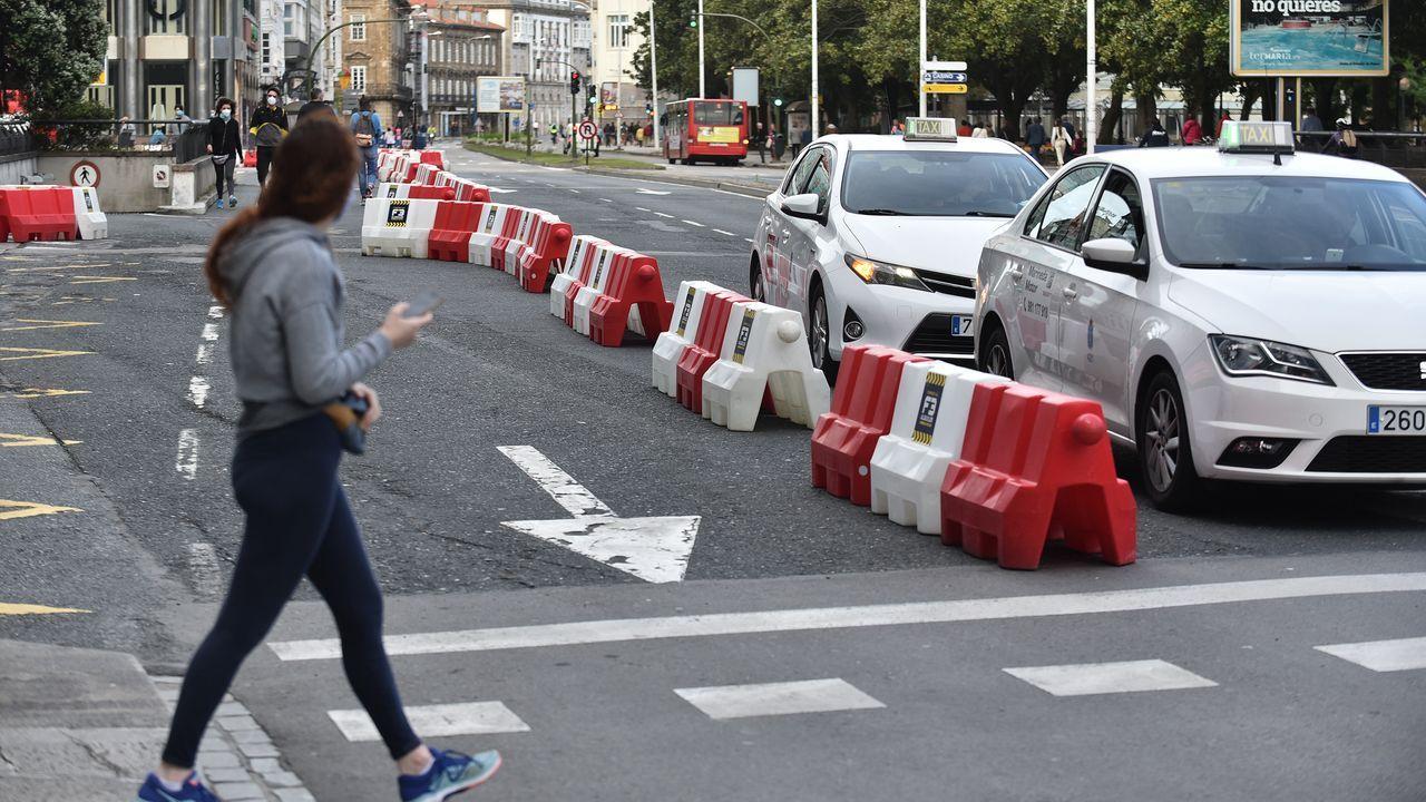 En la zona de Los Cantones se amplió la zona peatonal