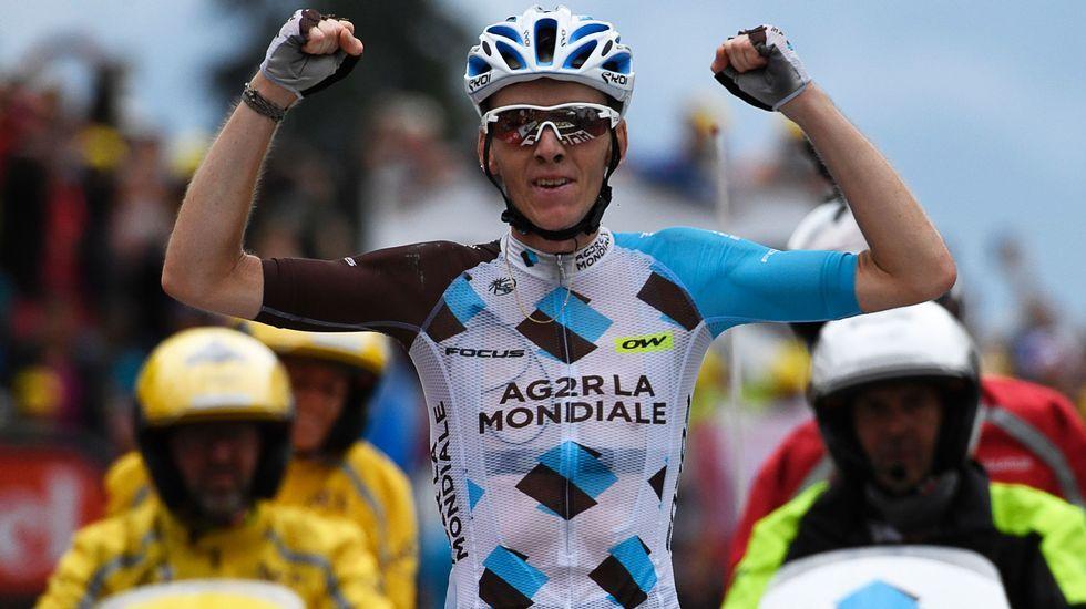 La Vuelta a España arranca en Ourense