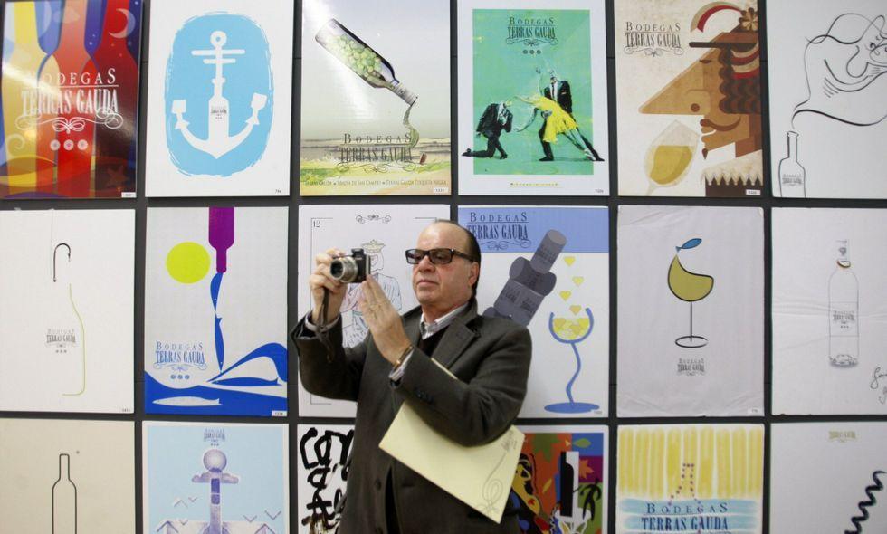 Terras Gauda expuso 1.890 carteles en la Autoridad Portuaria de Vigo el año pasado.