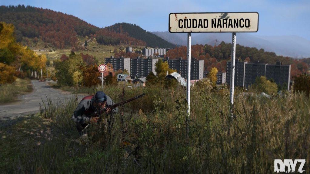 Una escena del videojuego DayZ ambientada en Asturias