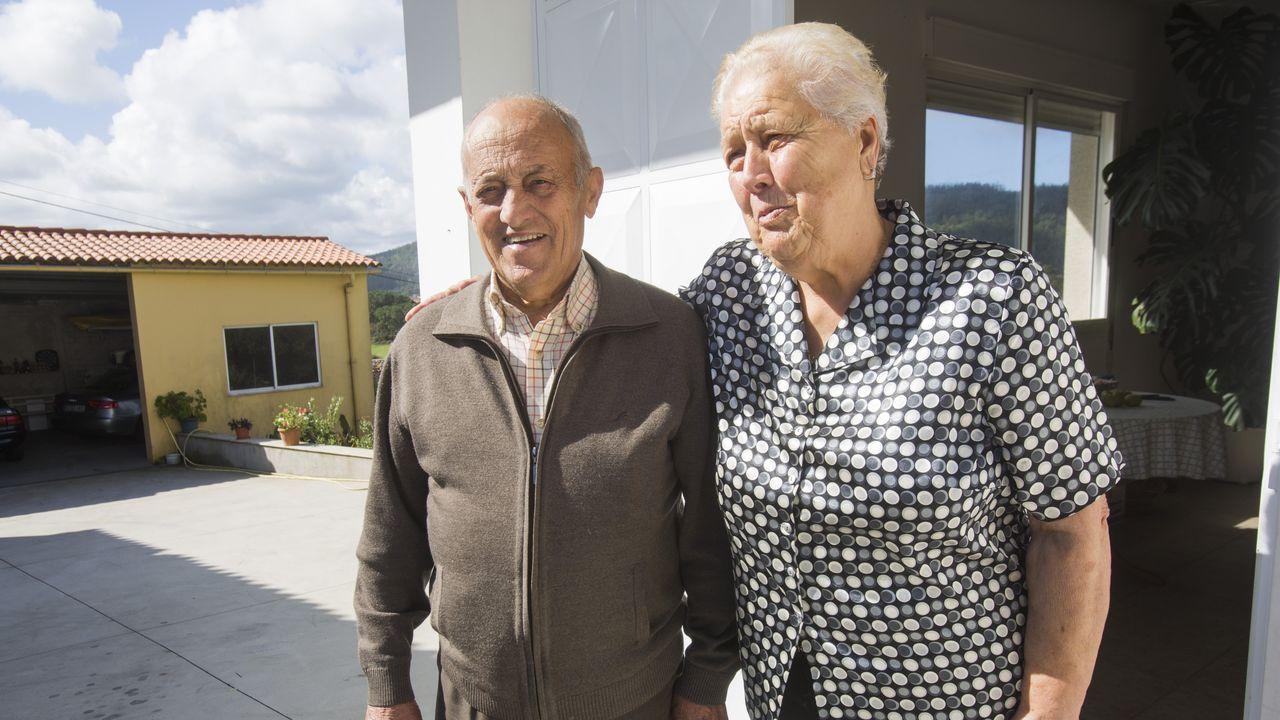 Santiago Cousillas y Teresa Gómez fueron testigos del incidente aéreo
