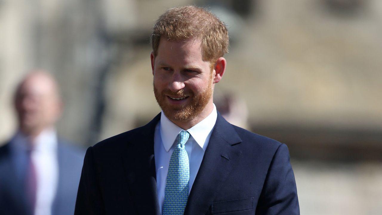 La familia real inglesa, en la misa de Pascua