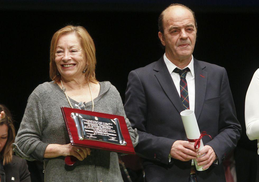 Olga Basterrechea y Alfonso García.