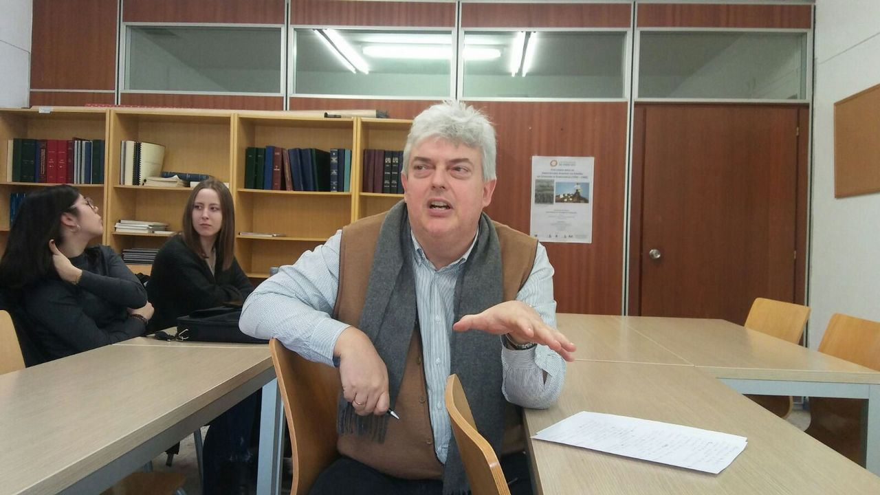 FLORIAN WIESER / EFE.El historiador gallego Núñez Seixas