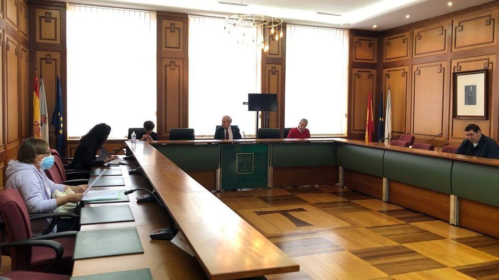 Junta de portavoces celebrada el pasado 11 de mayo, primera presencial tras el estado de alarma