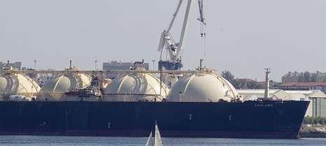 La división de Reparaciones de la ría ferrolana realizó durante el pasado año obras en una veintena de buques gaseros.