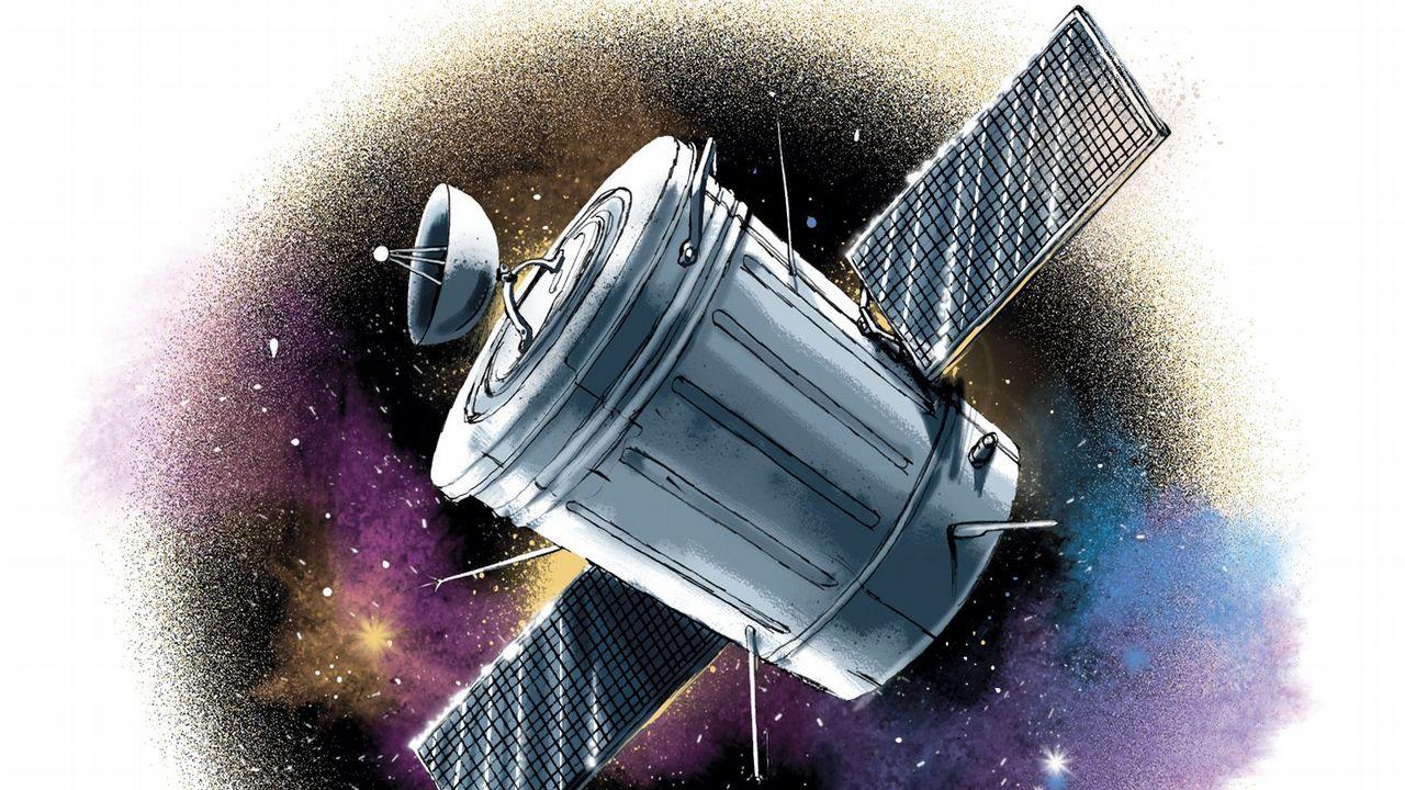 ¿Cómo caen 8 toneladas y media desde el espacio?