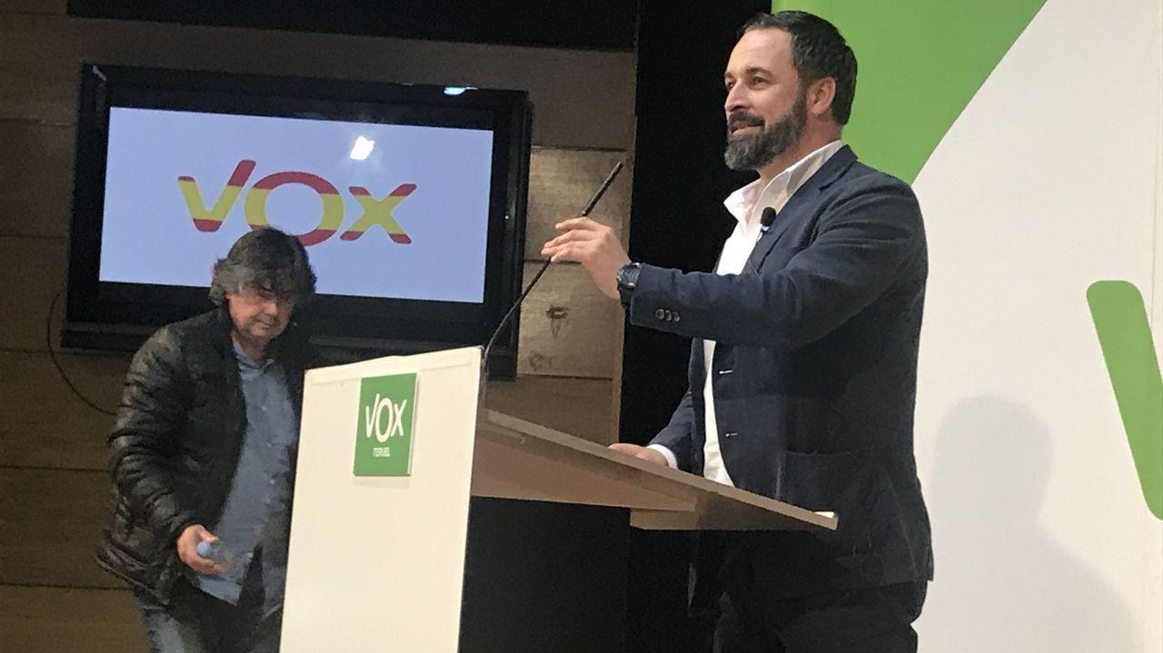 El PP ofrece las primeras concesiones a Vox en violencia de género.Santiago Abascal, en una imagen de archivo