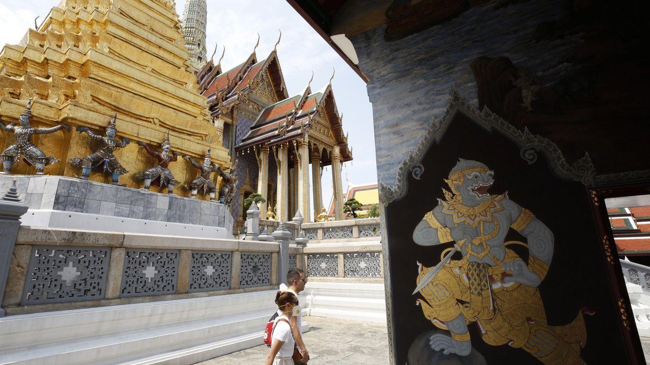 Templo del Buda Esmeralda, en Bangkok.