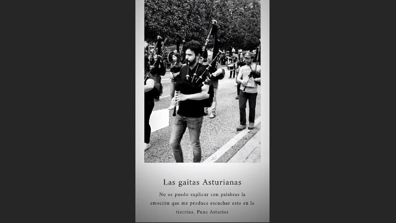 Historia de Pelayo Díaz sobre las gaitas asturianas