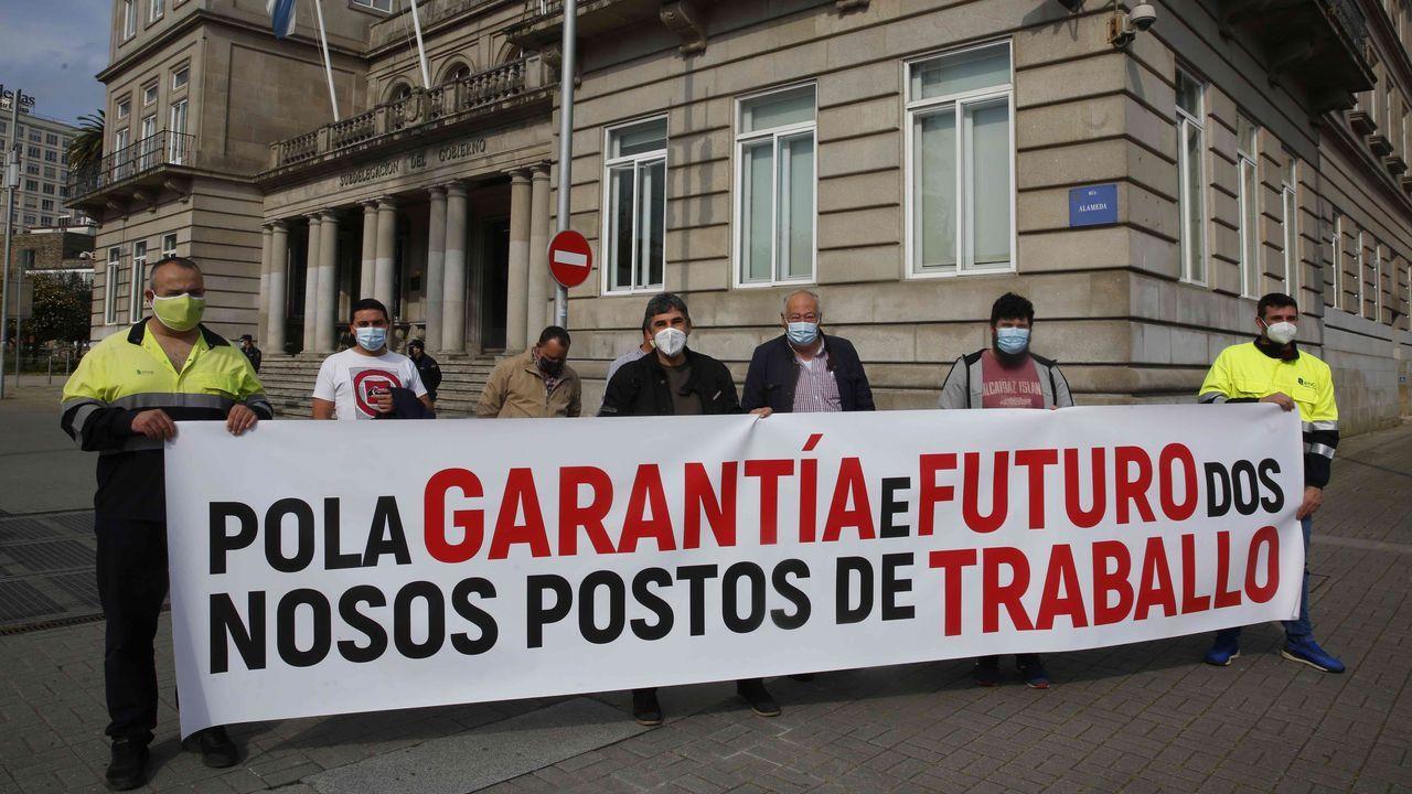 Alberto Ortega | Europa Press.Ángel Gabilondo haciendo campaña para las elecciones madrileñas en Alcorcón