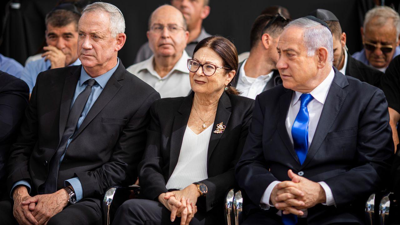 Gantz y Netanyahu