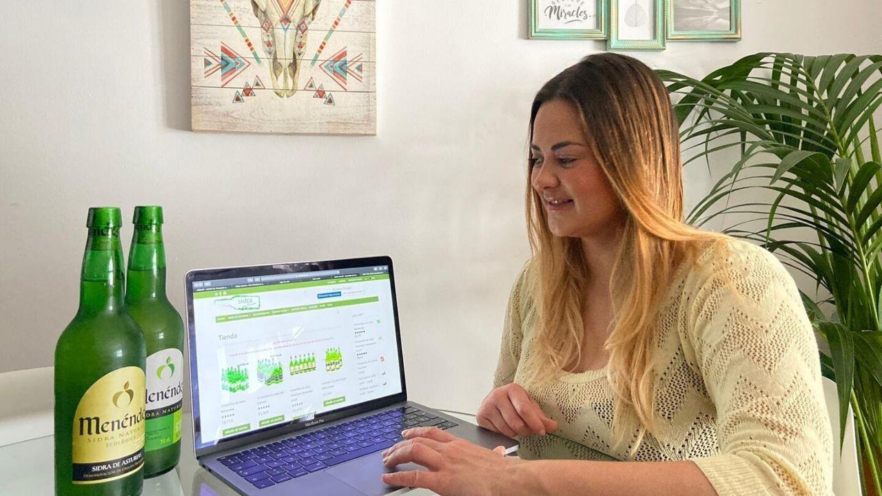 Laura García, responsable de la web sidraonline.es