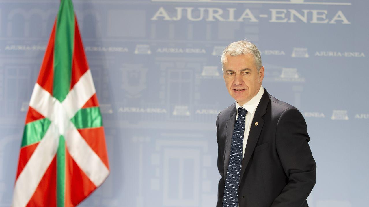 Iñigo Urkullu, del PNV, el candidato ganador de los comicios vascos, según las encuestas