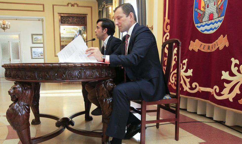 Rey Varela y Langtry presentaron ayer la liquidación.