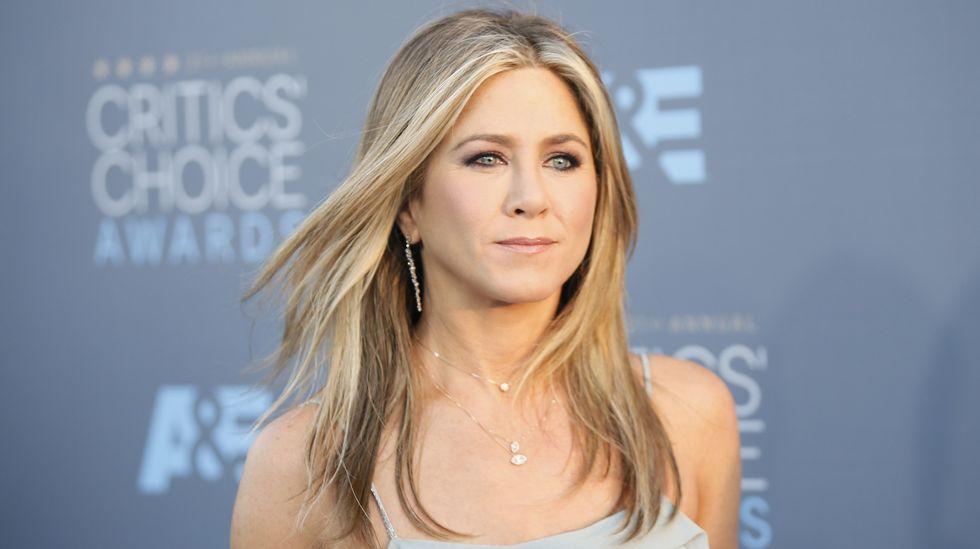 Jennifer Aniston, la mujer más guapa del año