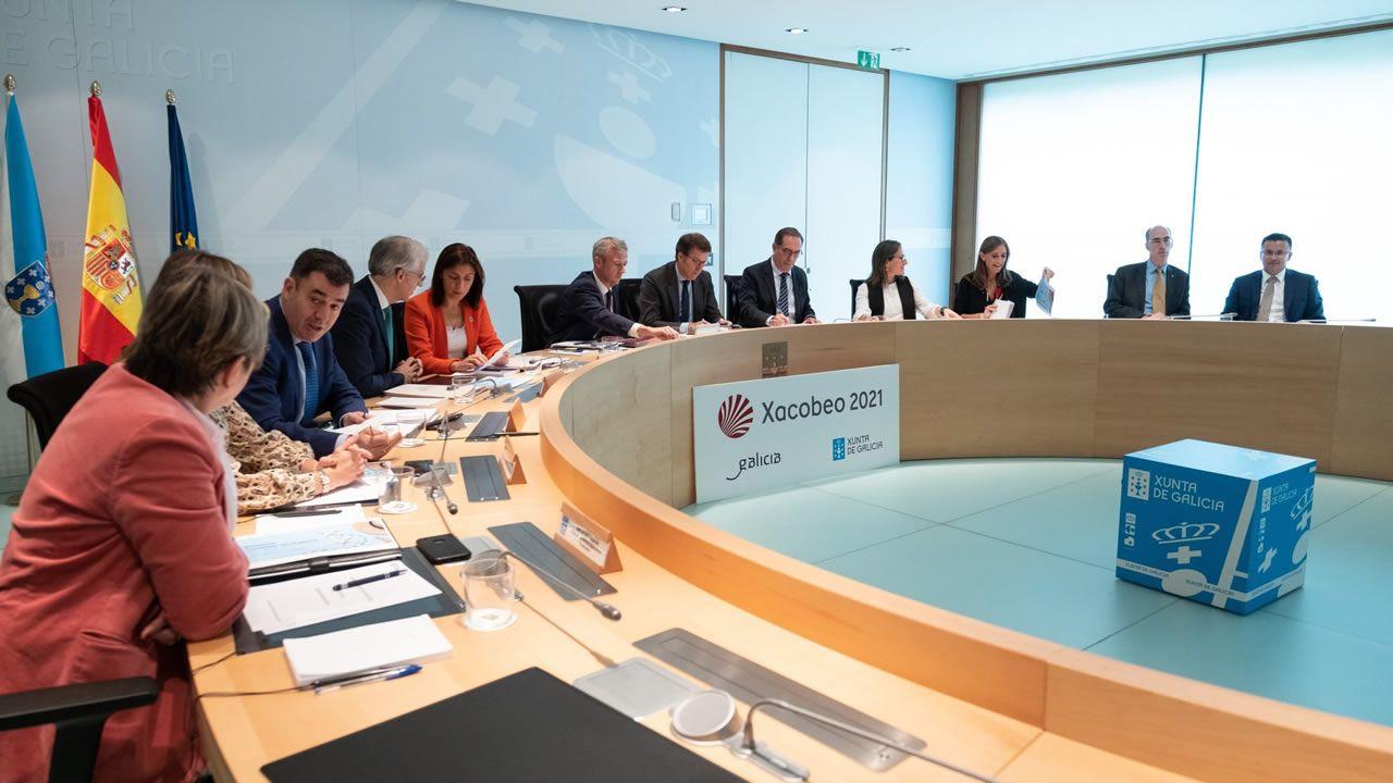 Consello de la Xunta del pasado 3 de octubre