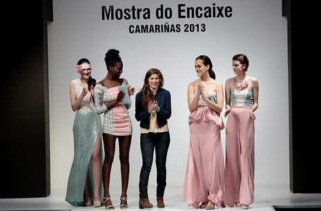 La colección ganadora fue calificada como «romántica, dulce y muy comercial».