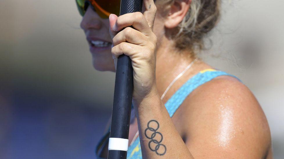 El Australia-España, en fotos.La piragüista australiana Naomi Flood.