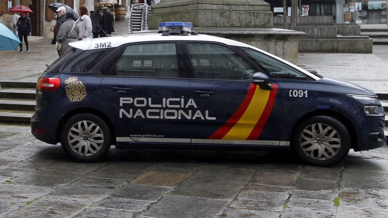 Así es el supercoche patrulla.Cristian Cueli
