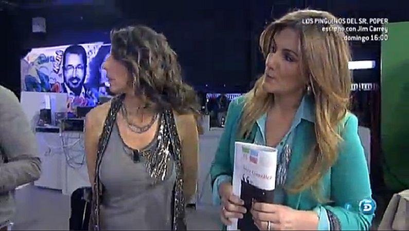 Carlota Corredera, con el suplemento «YES».