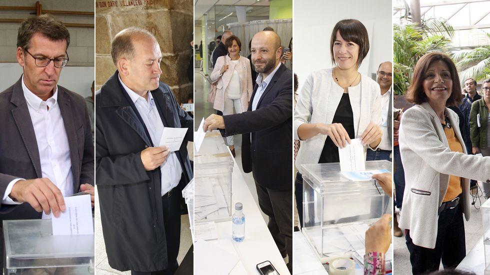 Así votaron los políticos gallegos