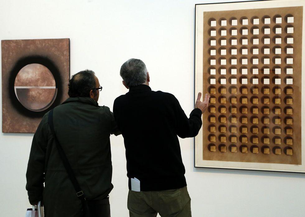 Es la primera vez que el Marco, en sus 12 años, dedica una exposición individual a un pintor.