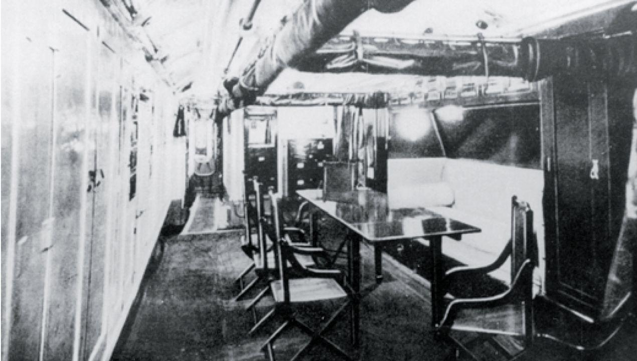 Cámara de oficiales del submarino C-5 de la Armada Española en el bando republicano, hundido frente la costa asturiana el 31 de diciembre de 1936
