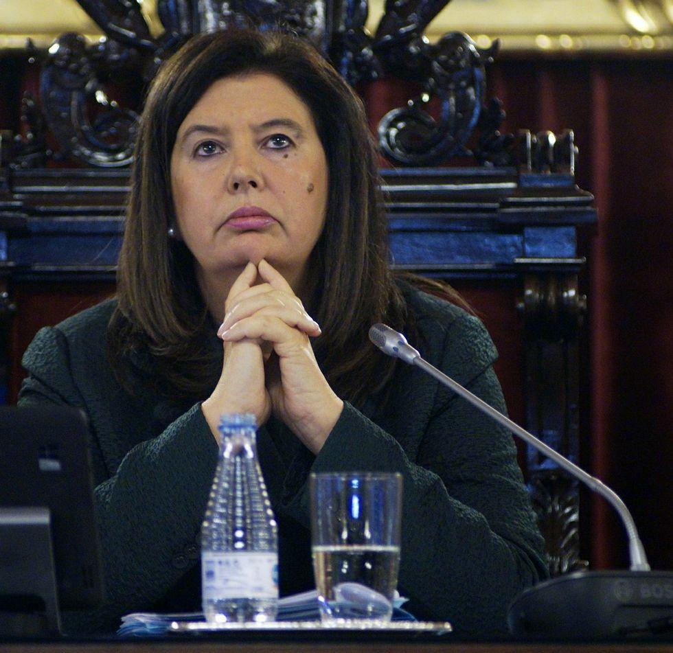 La ex concejala del PSOE Marga Martín.