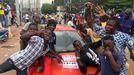 Los opositores celebran el motín en Mali