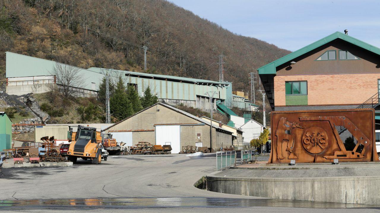La mina de Cerredo, desierta tras un ERE de extinción.