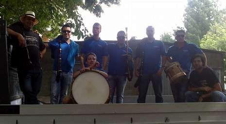 En la foto, la Banda de Lalín durante su participación en el festival holandés de Kerkrade en el año 2009.