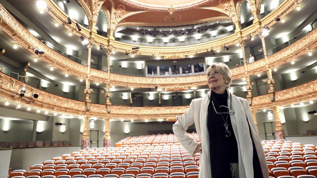 De la Sinfónica de Galicia a la calle Real.Vázquez y Rivera, juntos hace un mes en A Coruña