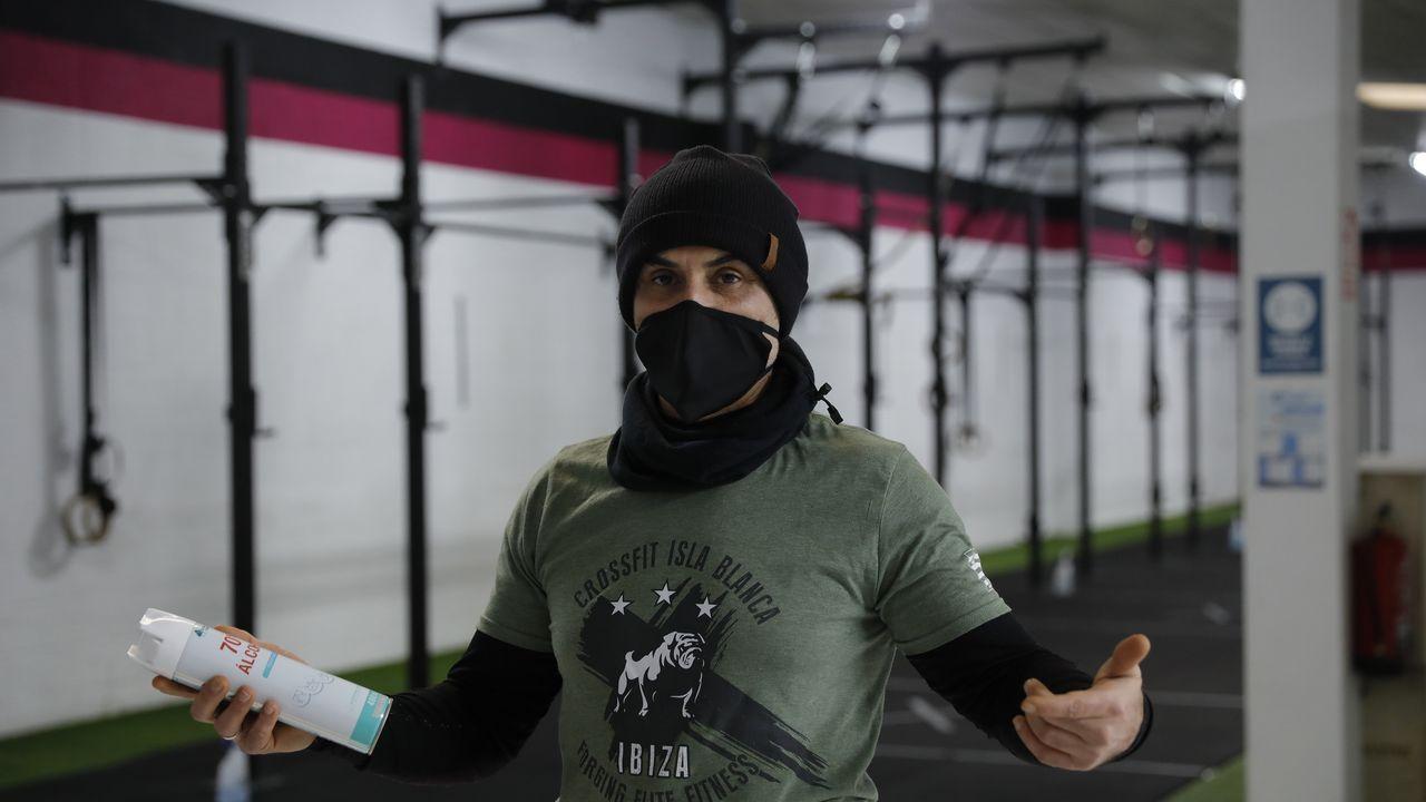 Erik Carballeira, del Crossfit Arteixo