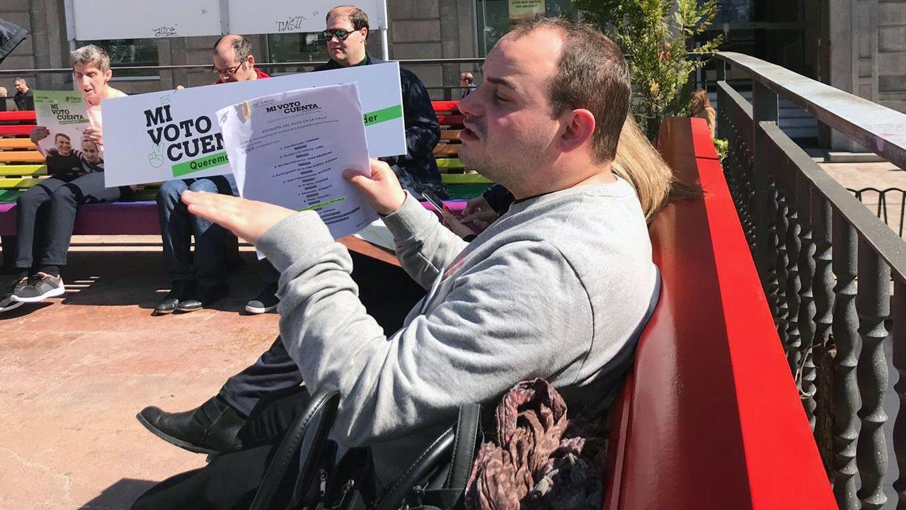 Mitin Social de Plena Inclusión Asturias