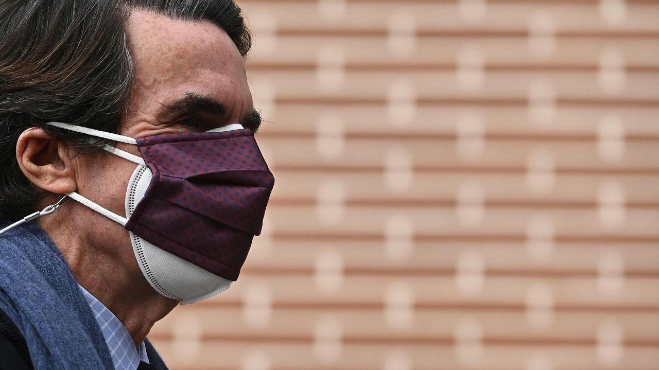 Declaran Aznar y Rajoy como testigos en el caso del presunto pago con la caja B del PP de las obras en Génova.Captura del testimonio ofrecido por el exdiputado del PP Jorge Trías este jueves en el marco del juicio por la caja B del PP