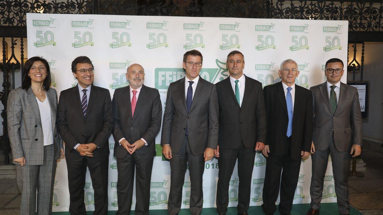 Entrega de los Premios Exceleite en Vilalba.Exporpymes, evento de internacionalización organizado por la Cámara de A Coruña