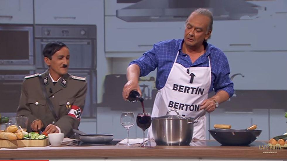 Bertín Osborne entrevista a Hitler en «Late Motiv»
