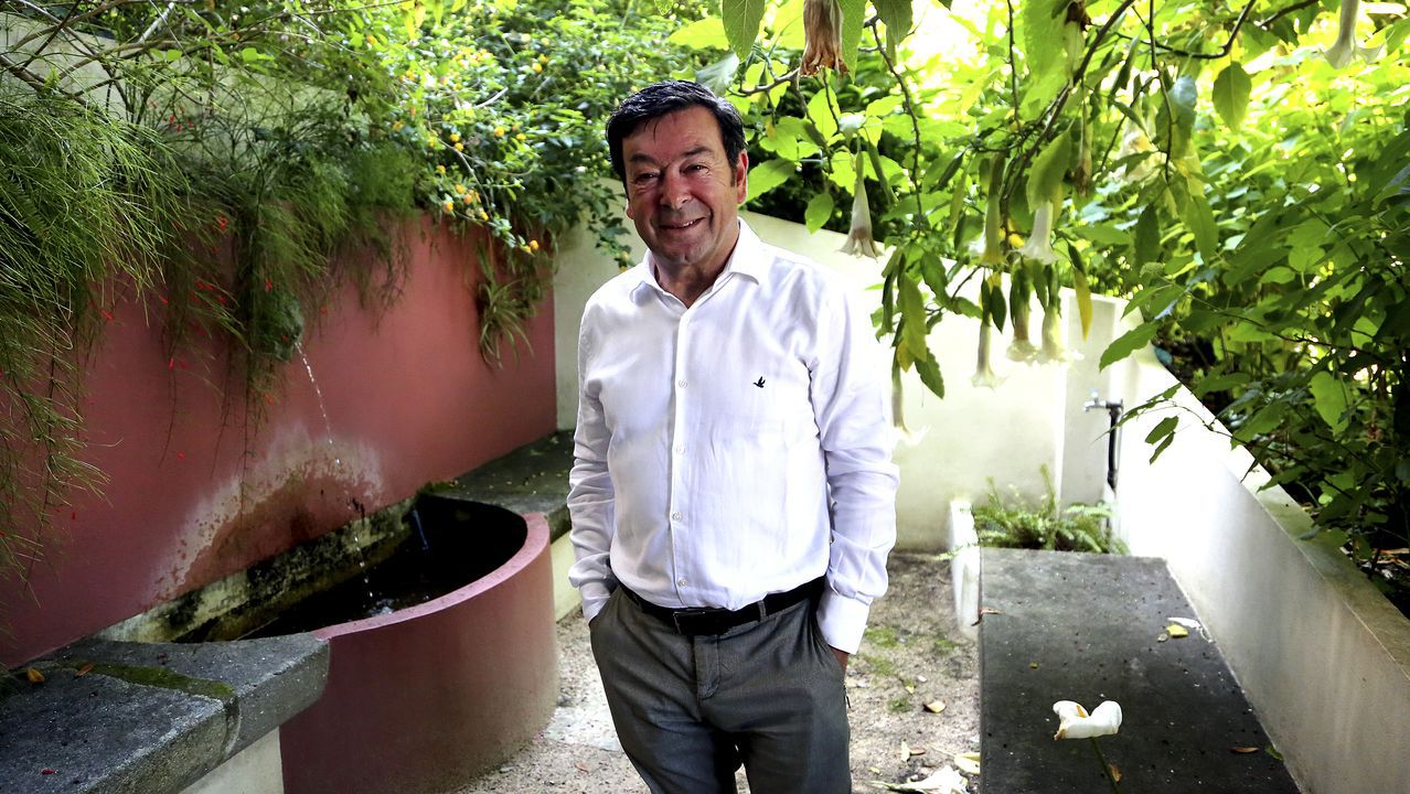 Veinte años de moda infantil con sello vigués.José Miguel García, consejero delegado del grupo Euskaltel